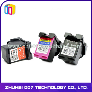 Edible ink cartridge for Coffee printer