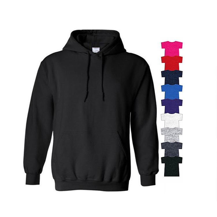 2019 <strong>men</strong> high quality new fashion cotton polyester blending cotton plain blank oem custom logo hoodies