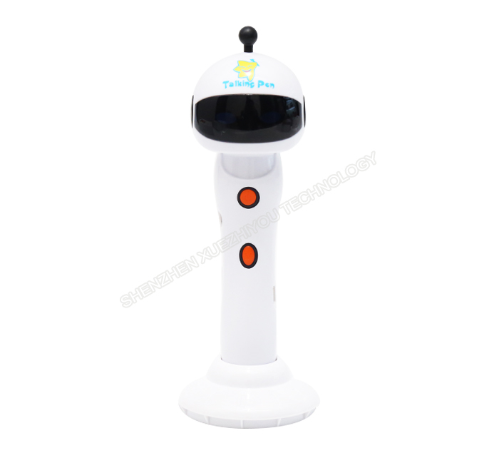 customize robot style baby magic pen early educational talk pen for school
