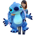 Fancytrader Real Pictures 35 Jumbo Giant Stitch Plush Stuffed Soft Cute Toy 90cm Nice Gift For