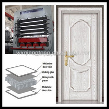 MDF door skin panel / Laminate pressed door / hot press machine for door