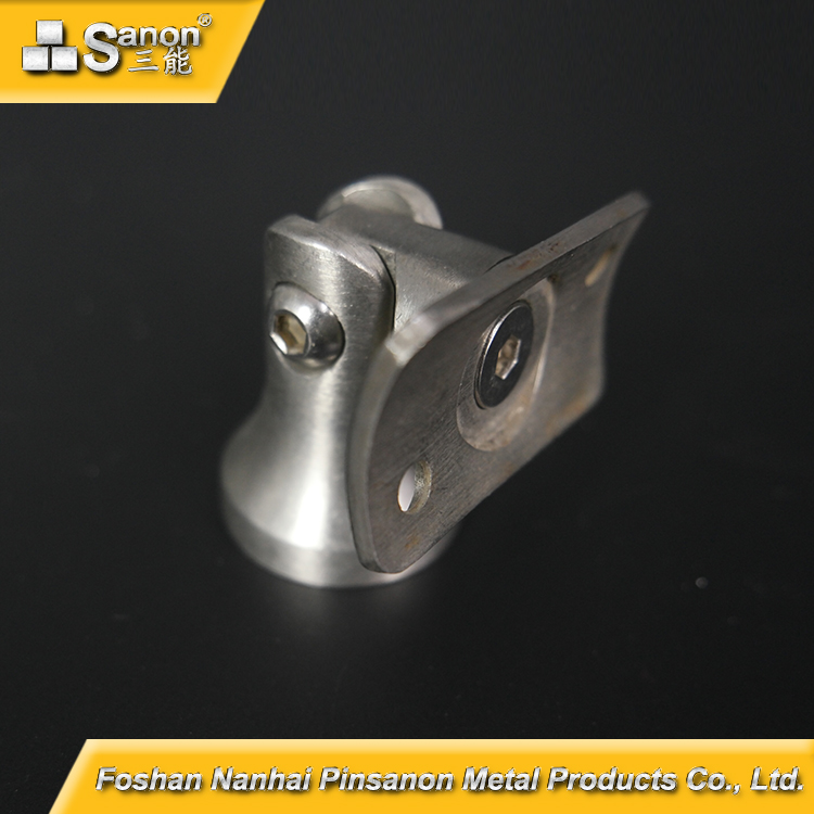 Stainless Steel Handrail Adjustable Squire Pipe Bracket