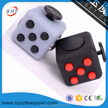 Mixed colors magical cub smooth button desk toy fidget cube as stress reliever and Fidget Toy for Kids & Adults for Killing Time