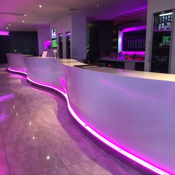 Acryl Festen Oberfläche Night Club Shisha Lounge Möbel Home Led