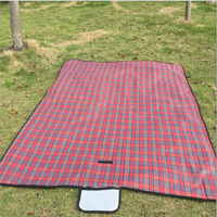 New style portable picnic blanket beach blanket waterproof travel camping oxford folding picnic mat