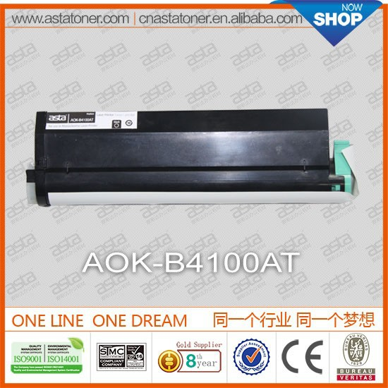 used laser printer b4100 for oki toner from ASTA factory directly sale