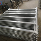 metal livestock field farm fence gate hot dipped galvanized pipe horse cattle sheep panel