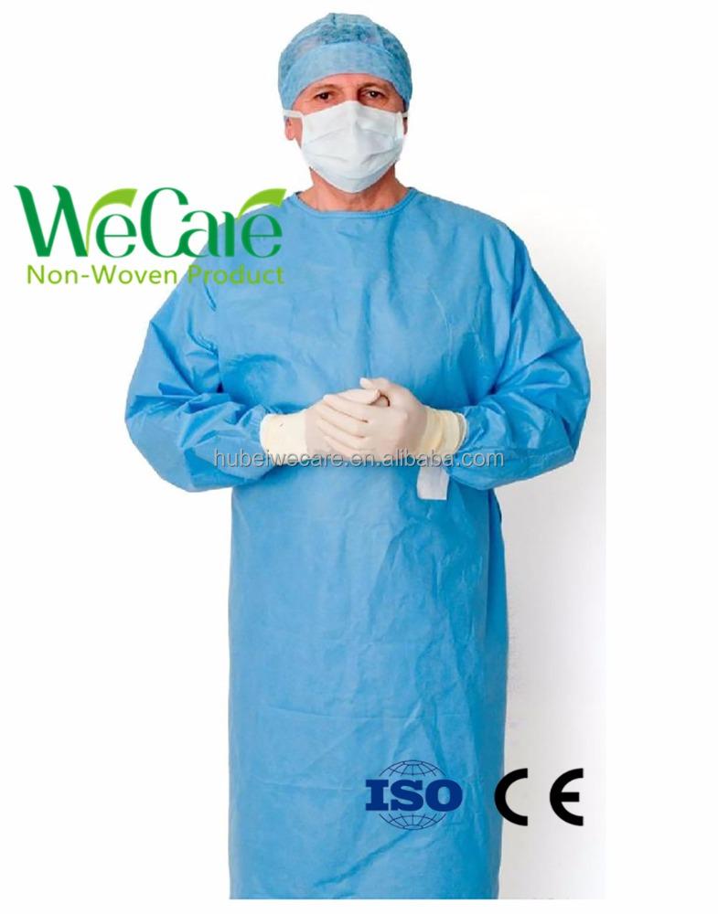 Spunlace Disposable Surgical Gown, Spunlace Disposable Surgical Gown ...