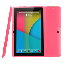 Commercio All'ingrosso di massa Android <span class=keywords><strong>Tablet</strong></span> 7 Pollici Allwinner A33 8 GB di ROM Android 4.4 <span class=keywords><strong>Tablet</strong></span> Q88