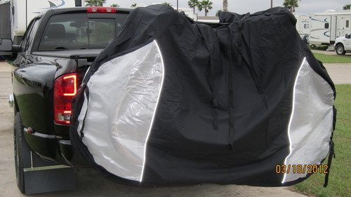 Formosa Covers Bike Cover for Transport on Car, Truck, Suv, RV Rack or Home Storage, Reflectors, fits 1-4 Bikes