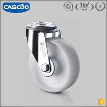 CASCOO rotary caster PP custom industrial wheels for carts