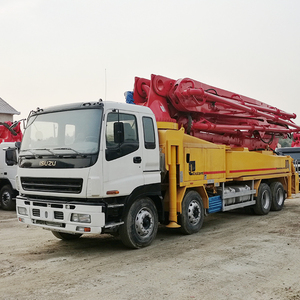 Hot Sale High Quality 2008 year Putzmeister 42 Meter 5RZ ISUZU Chassis Used Truck Mounted Concrete Pump for Sale