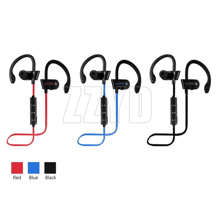 Top selling RT558 Earhook Headphones Oem Headset Music Running Sport Earphones For iPhone Samsung Wireless in ear headphones
