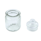Popular food grain pickled cabbage storage tank glass candy jar crystal glass jar with glass lid