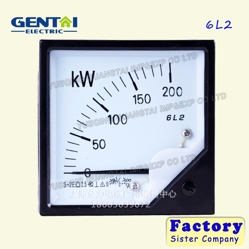 Good quality 6L2 kW micro panel meter mounting power meter