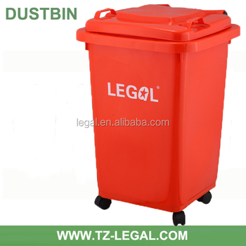 13 Gallon Plastic Recycling Trash Can For Home Composter For Food