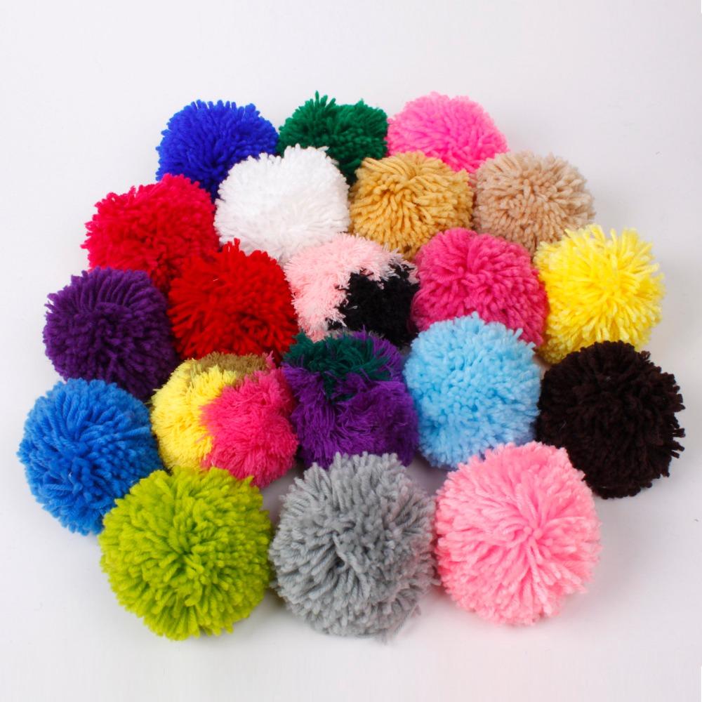 Venta al por mayor manualidades de lana pompones compre - Manualidades en lana ...