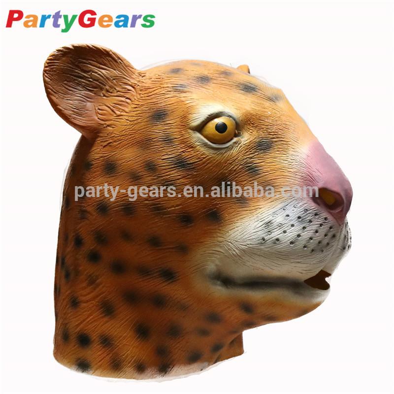 mascherina bocca leopardata