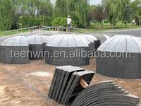 Teenwin china 10m3 family biogas digester/plant for food waste/human waste