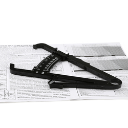 Measurement tool personal skinfold body tape ruler fat caliper skin fold calipers