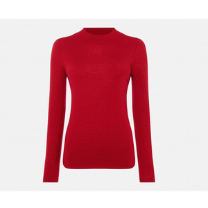 Soft merino wool woman slim pullover sweater fashional knitwear