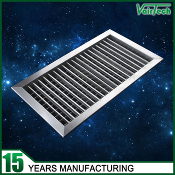 Adjustable Louver Decorative Wall Vents Stainless Steel Air Ventilation  Grilles