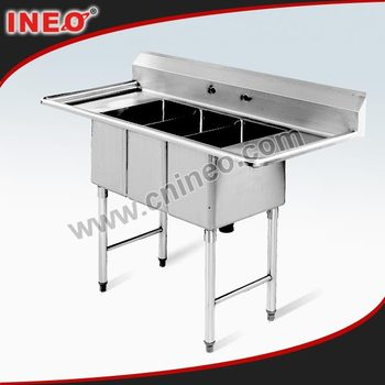 Free Standing Commercial Kitchen Sink/stainless Steel Freestanding ...