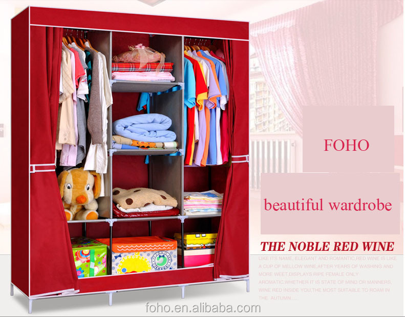 Folding Wardrobe Fabric Cabinet,Hot Sale Folding Buy Portable Cheap  Wardrobe Closet