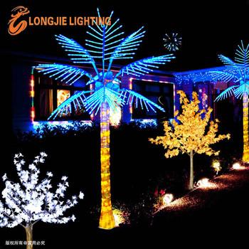 Tropische Künstliche Leuchtende Led Kokos Blatt Palme Licht ...