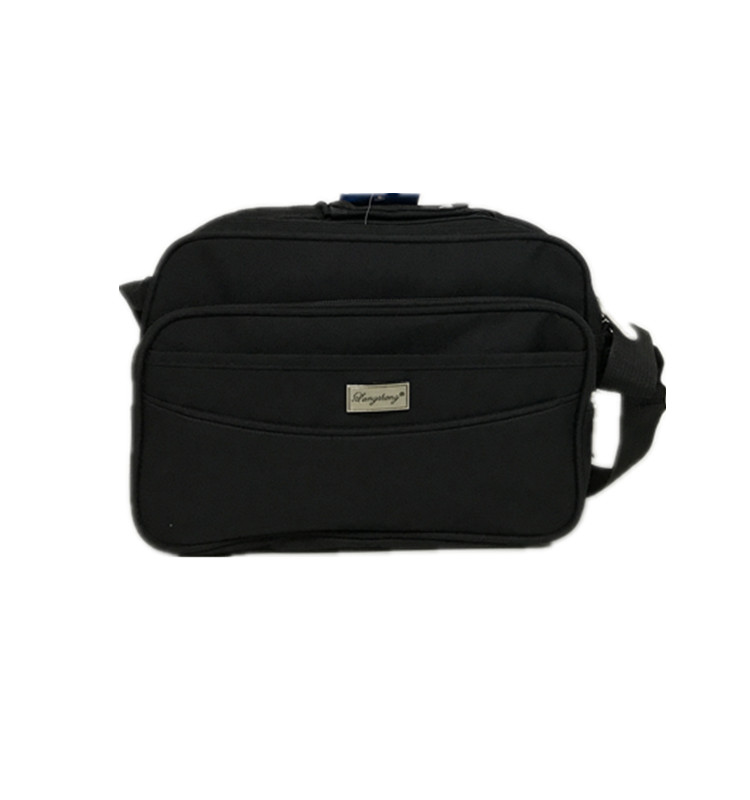 Fashion Commercial 600D Polyester Mens Business Shoulder Crossbody Messenger Bag