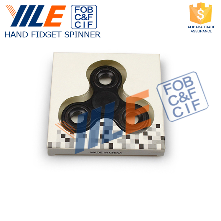 YILE Brand Best Sales Products In Alibaba Plastic ABS Finger Fidget Spinner