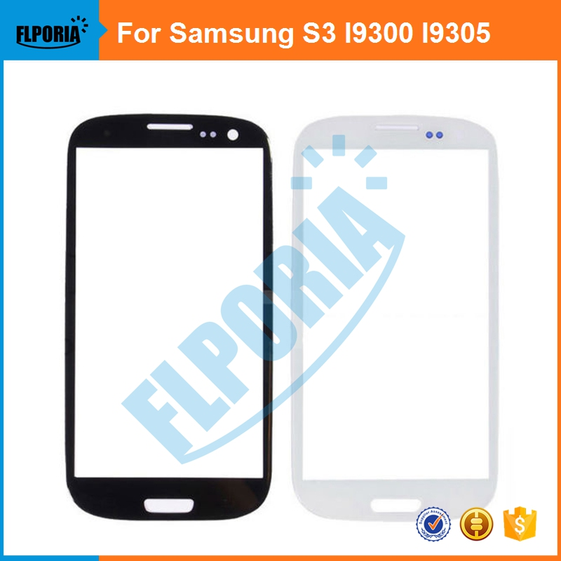 For Samsung S3 I9300/I9305 Front Outer Glass Lens Screen Free adhesive + tools