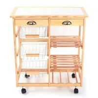 Hot sale factory direct kitchen island cart