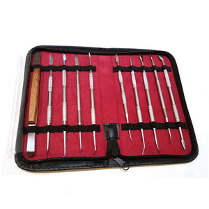Dental Lab technical Products instruments tools kit/bag and wax carving tools