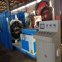 Hydraulic hose/flexible metal hose single decker wire braiding machine
