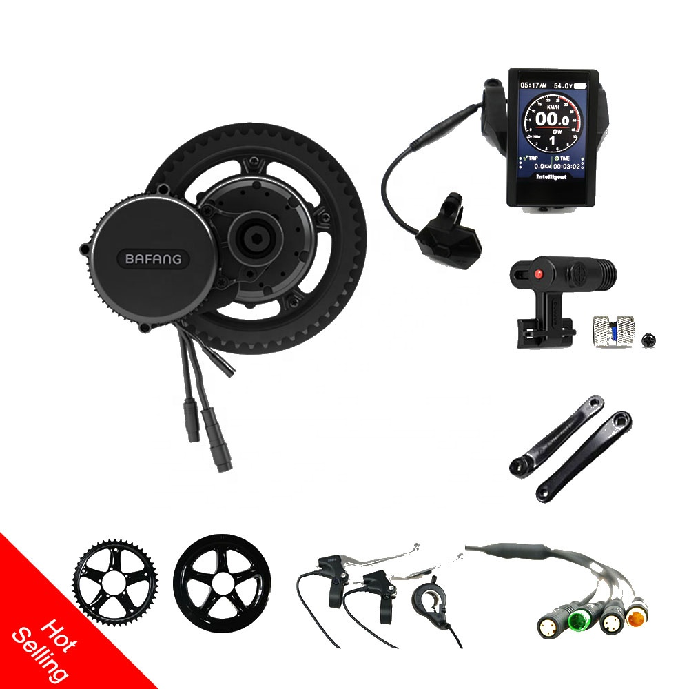 Alibaba.com / 2019 latest bafang bbs02 750w 8fun mid drive motor  ebike kits bafang mid motor kit