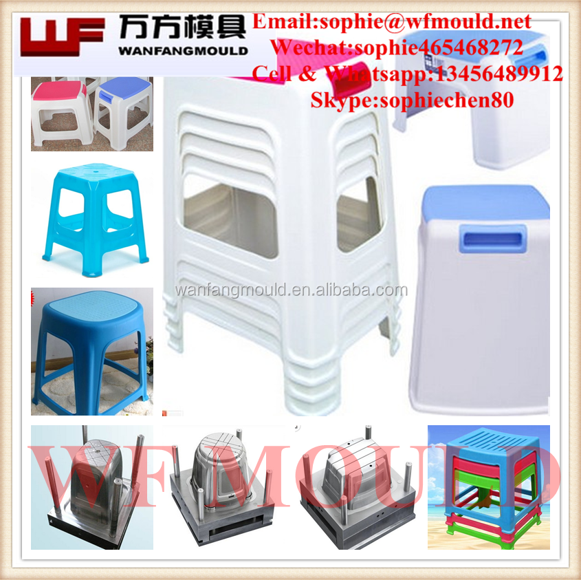 2017 new Plastic Baby Stool Moulds/Folding Stool Chair mould with high quality and competitive price