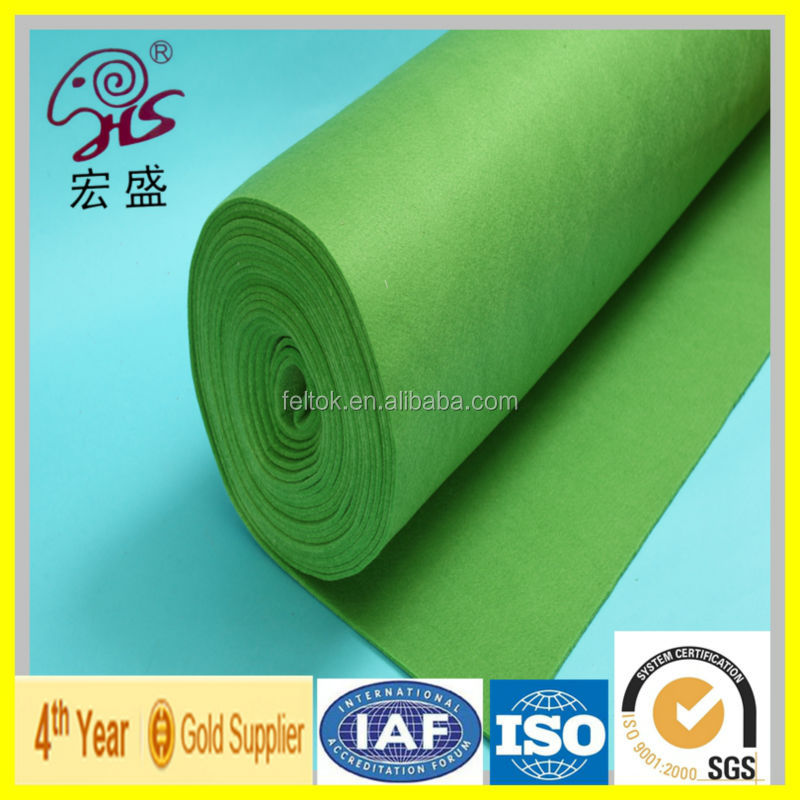 1mm,2mm,3mm,4mm Thickness Acrylic Felt In Rolls