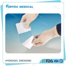Foryou Medical Hydrogel relieve burn gel dressing wound care hydrogel dressing for burns