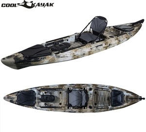 High quality Portable 13ft fishing kayak fishing boat sit on top kayak