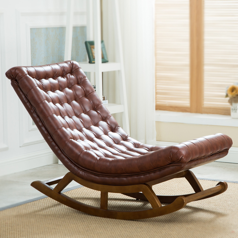 Popular Leather Rocking Chairs-Buy Cheap Leather Rocking