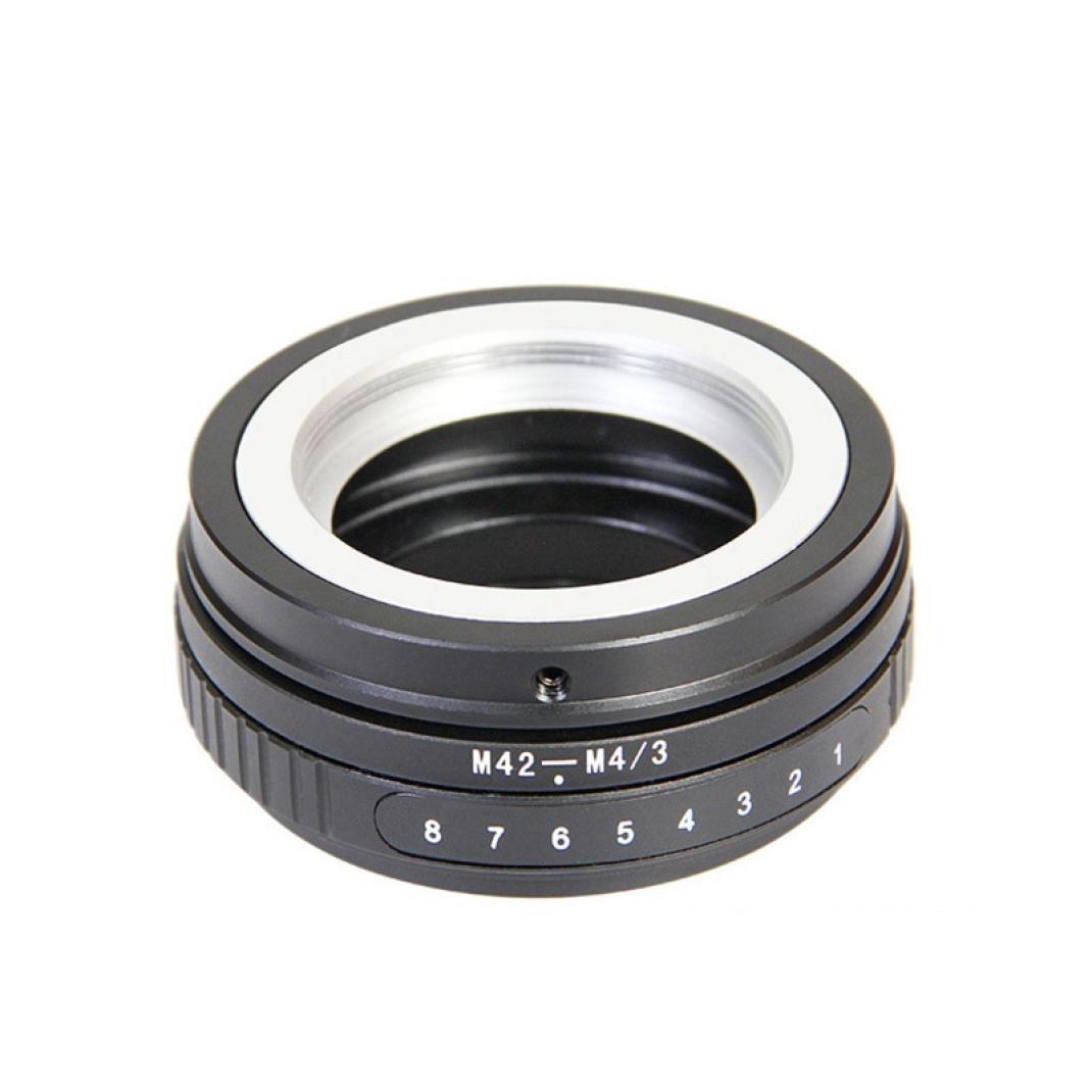 Mandy M42-M4/3 Tilt Adapter M42 Screw Lens to Micro 4/3 M43 E-P1 E-PL2 DMC G1 GF2 GF3