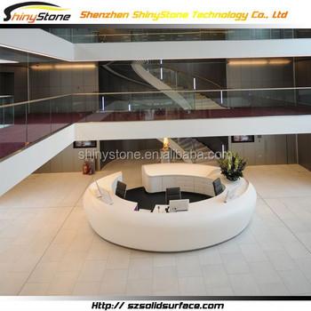 Circular Shape Modern Commercial Lobby