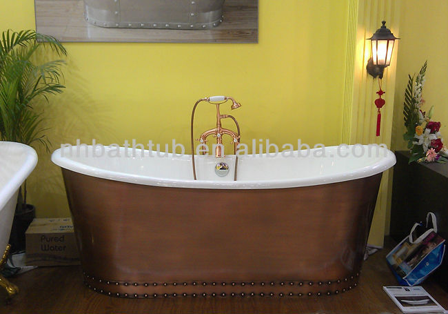 Copper Bathtub/ Antique Tub/ Cast Iron Freestanding Bath - Buy ...