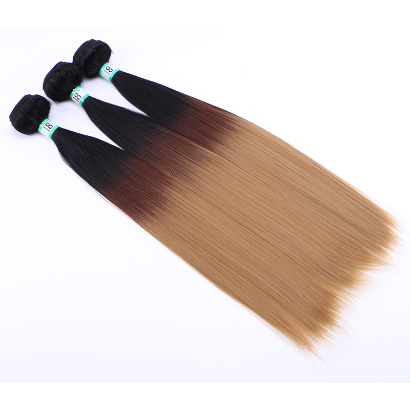 Ombre Hair Bundles 1427 Cheap Synthetic Hair Extensions For Women