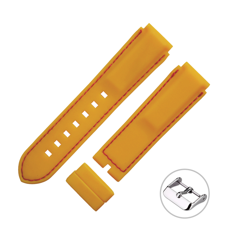 변화 태양 광 Bulk Silicone Rubber Wrist Watch Band Strap