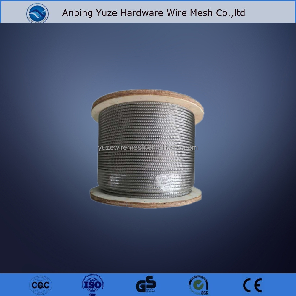 Stainless Steel Wire Rope 0.5mm 7x7,Sling Lock Wire -1\