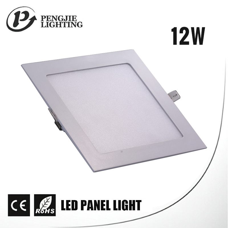 New style ultra thin marine navigation color changing led panel light 12w