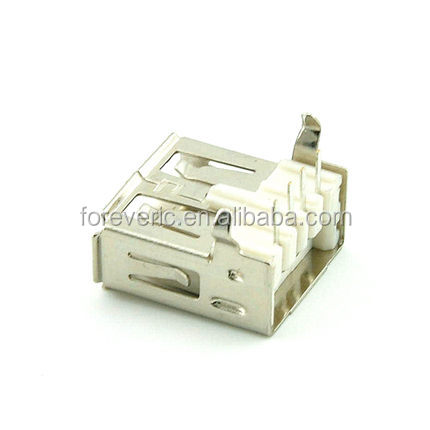 USB 2.0 Female A Type Right Angle 90 Degree Female USB Connector Socket