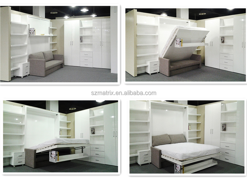 Wall Bed Murphy Bed Folding Wall Bed Hidden Wall Bed With